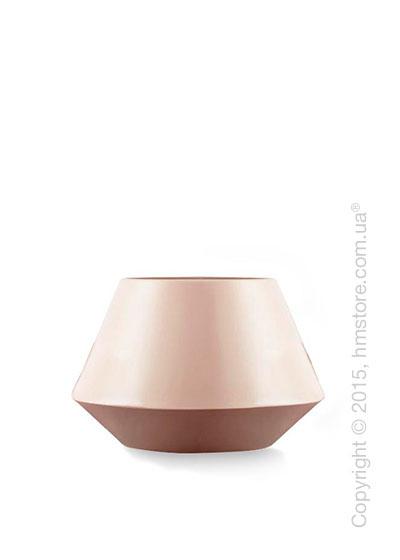 Ваза Calligaris Trio M, Ceramic matt old rose and light pink