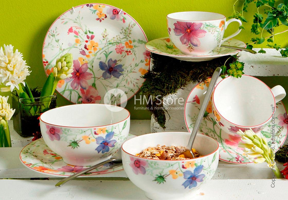 Набор фарфоровых тарелок Villeroy & Boch коллекция Mariefleur Basic