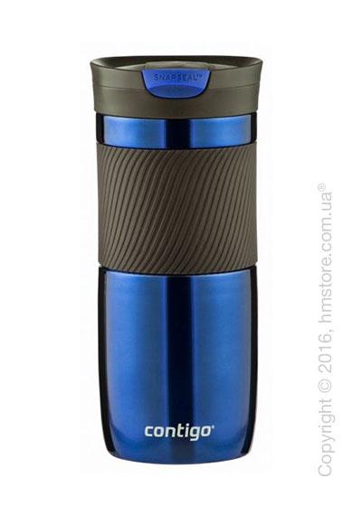Термокружка Contigo SnapSeal Byron Stainless Travel Mug, Blue