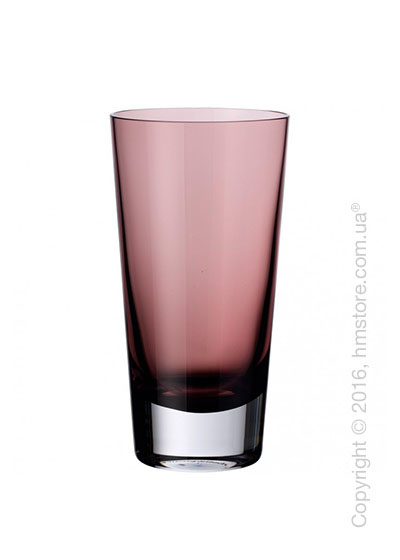 Набор стаканов Villeroy & Boch коллекция Colour Concept 420 мл на 4 персоны, Burgundy