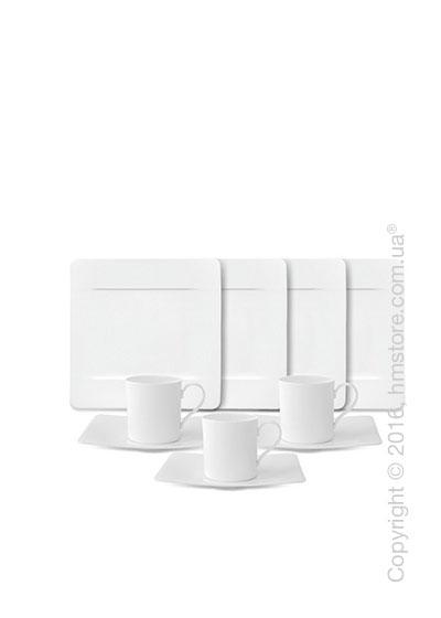 Кофейный сервиз Villeroy & Boch коллекция Modern Grace на 6 персон, 18 предметов