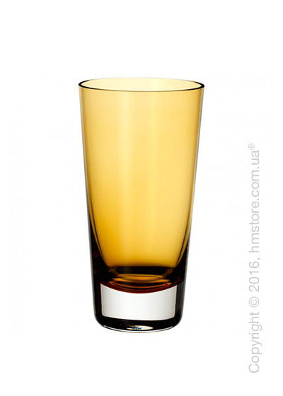 Набор стаканов Villeroy & Boch коллекция Colour Concept 420 мл на 4 персоны, Amber