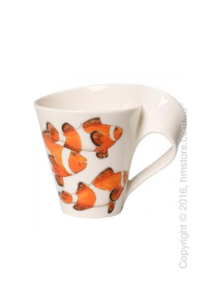 Чашка Villeroy & Boch коллекция New Wave, серия Animals of the World 300 мл, Anemone fish