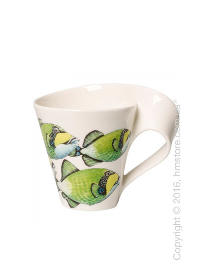 Чашка Villeroy & Boch коллекция New Wave, серия Animals of the World 300 мл, Triggerfish