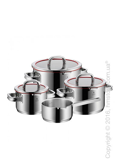 Набор кастрюль WMF коллекция Function 4 with saucepan, 4 предмета