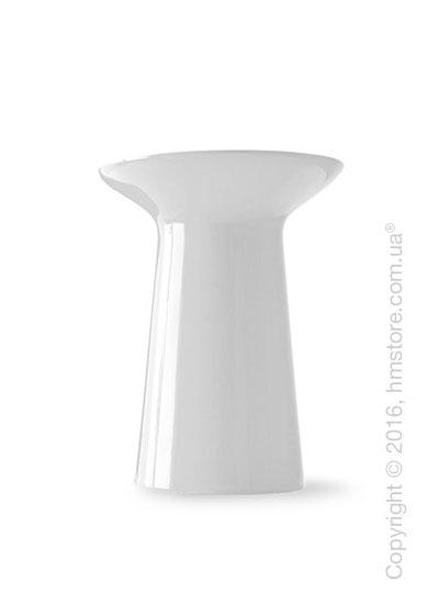 Ваза Calligaris Dafne, Ceramic glossy white