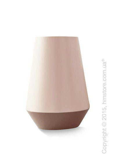 Ваза Calligaris Trio L, Ceramic glossy matt old rose and light pink