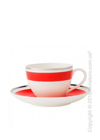 Чашка с блюдцем Villeroy & Boch коллекция Anmut My Color, Red Cherry