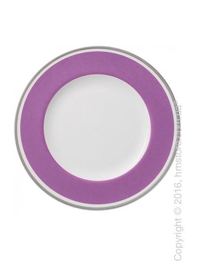 Тарелка столовая мелкая Villeroy & Boch коллекция Anmut My Color, Pink Rose