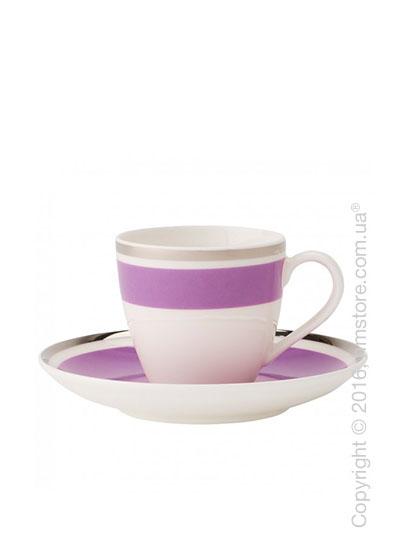 Чашка для эспрессо с блюдцем Villeroy & Boch коллекция Anmut My Color, Pink Rose