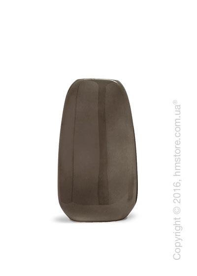 Ваза Calligaris Flavour L, Ceramic glossy dark taupe