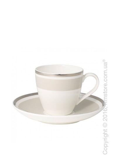 Чашка для эспрессо с блюдцем Villeroy & Boch коллекция Anmut My Color, Savannah Cream