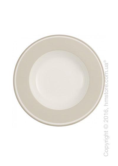 Тарелка столовая глубокая Villeroy & Boch коллекция Anmut My Color, Savannah Cream
