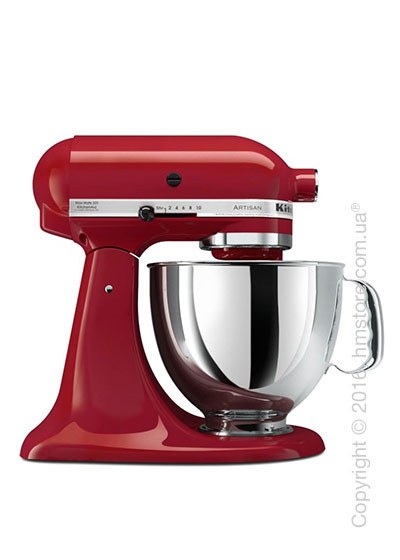Планетарный миксер KitchenAid Artisan Series 5-Quart Tilt-Head Stand Mixer 4.8 л, Empire Red