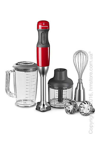 Блендер погружной KitchenAid Stabmixer Handblender, Empire Red