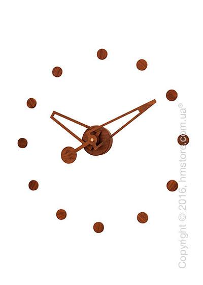 Часы настенные Nomon Rodon N Wall Clock, Walnut