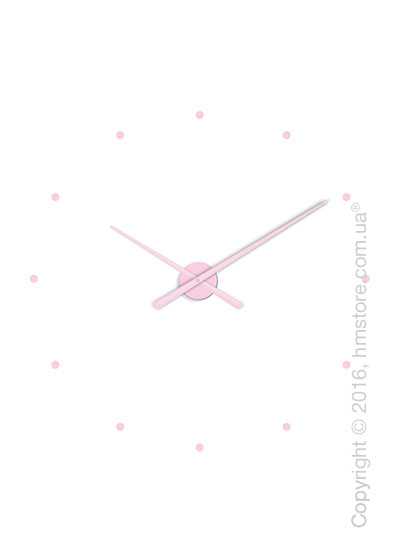 Часы настенные Nomon Oj Wall Clock, Pink