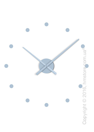Часы настенные Nomon Oj Mini Wall Clock, Steel Blue