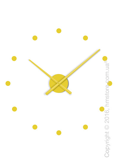 Часы настенные Nomon Oj Mini Wall Clock, Mustard