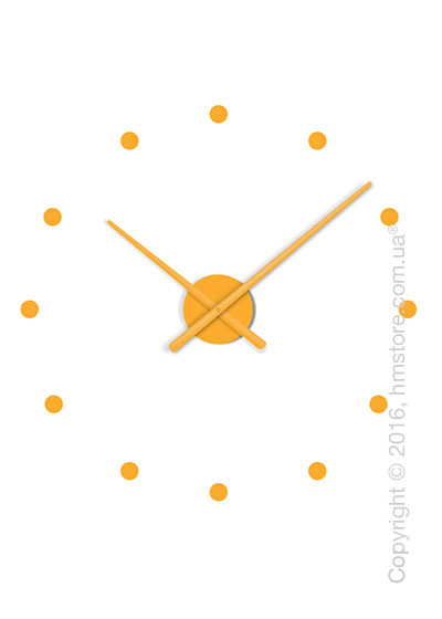 Часы настенные Nomon Oj Mini Wall Clock, Pumpkin