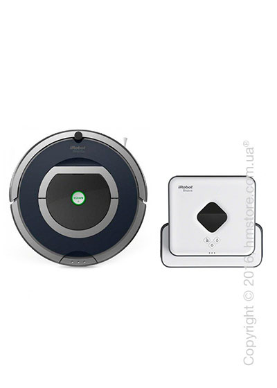 Комплект – робот-уборщик iRobot Roomba 785, робот-уборщик iRobot Braava 390T