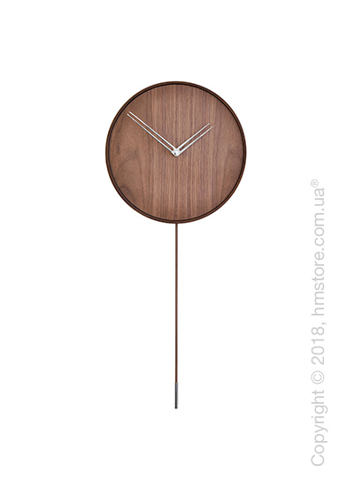 Часы настенные с маятником Nomon Swing, Steel