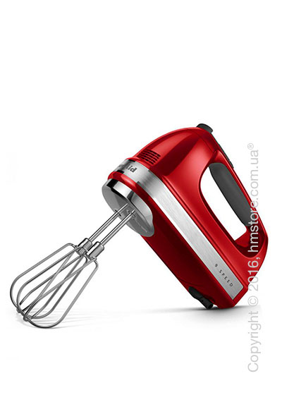 Ручной миксер KitchenAid 9-Speed Hand Mixer, Empire Red