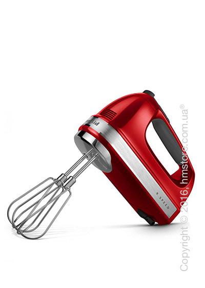 Ручной миксер KitchenAid 9-Speed Hand Mixer, Empire Red. Купить