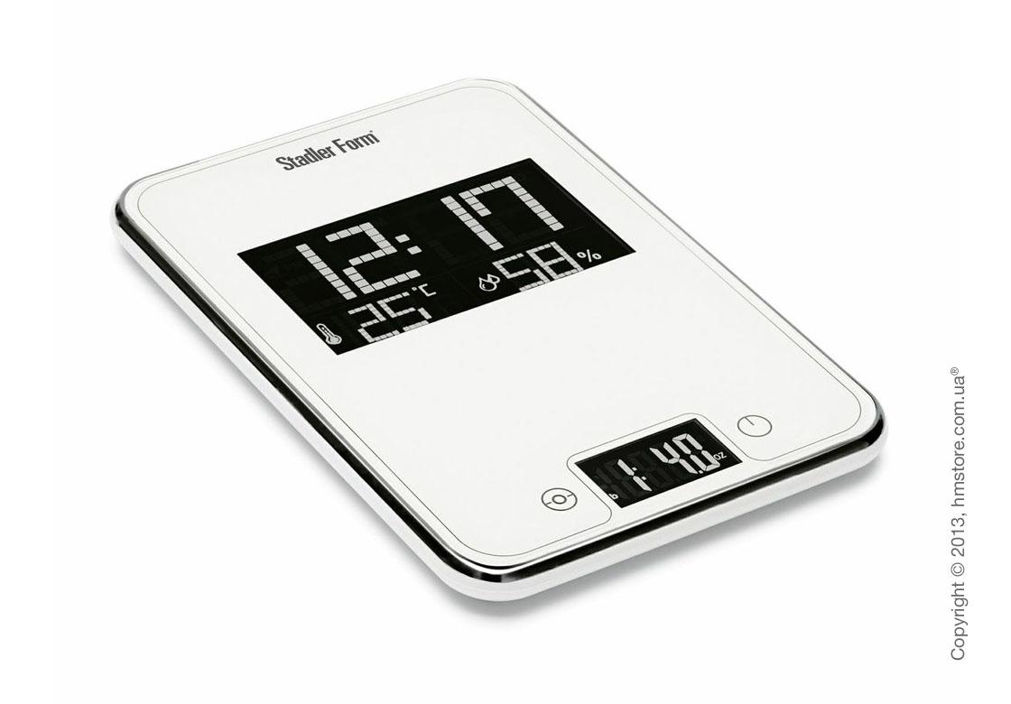Весы кухонные Stadler Form Scale One, White