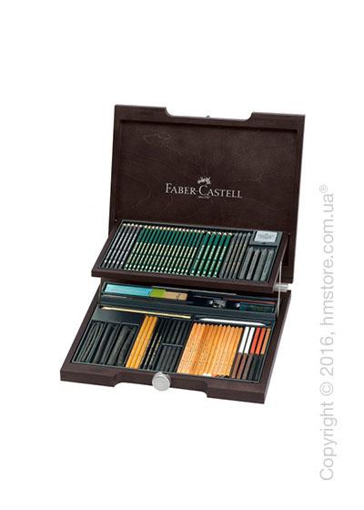 Набор карандашей Faber-Castell профессиональный, 86 предметов