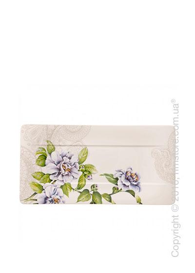 Блюдо для подачи Villeroy & Boch коллекция Quinsai Garden, 35x18 см