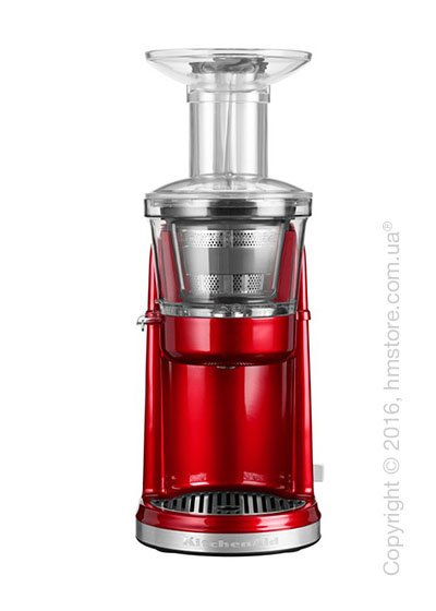 Шнековая соковыжималка KitchenAid Artisan Maximum Extraction Juicer, Candy Apple Red