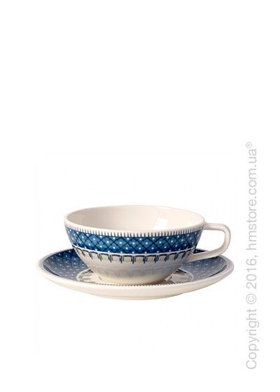 Чашка с блюдцем Villeroy & Boch коллекция Casale Blu 240 мл