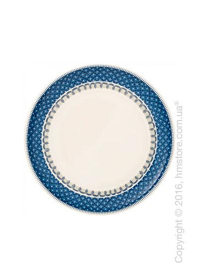 Тарелка столовая мелкая Villeroy & Boch коллекция Casale Blu