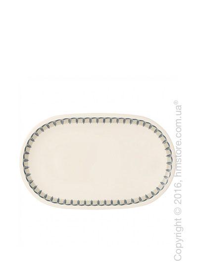 Блюдо для подачи Villeroy & Boch коллекция Casale Blu, 28x16 см