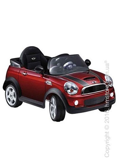 Электромобиль детский BMW Cooper S Mini Cabrio, Red