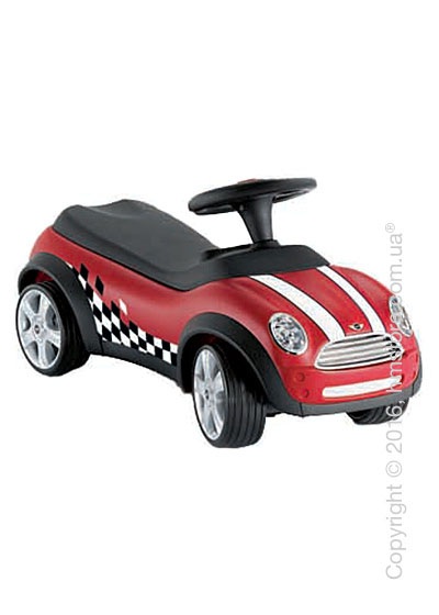 Автомобиль детский BMW Mini Baby Racer II, Chilli red and Black