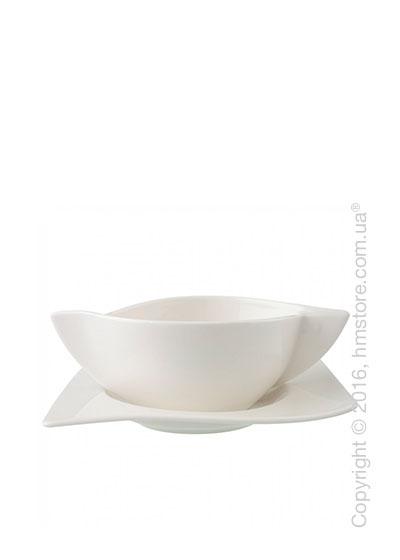 Чашка с блюдцем бульонная Villeroy & Boch коллекция New Wave, 2 предмета