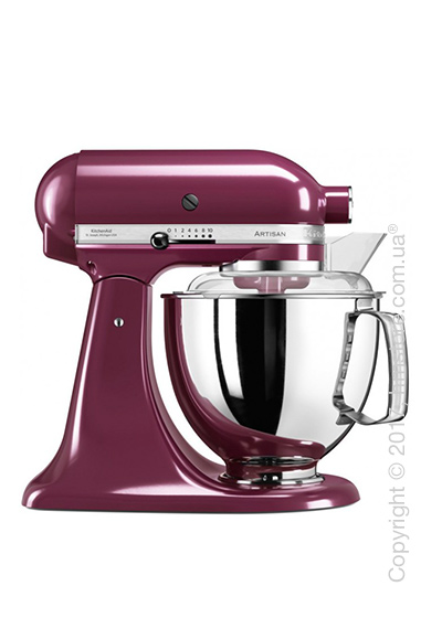 Планетарный миксер KitchenAid Artisan Series 5-Quart Tilt-Head Stand Mixer Plus Bowl 4.8 л, Boysenberry. Купить