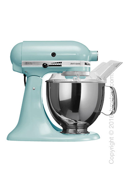 Планетарный миксер KitchenAid Artisan Series 5-Quart Tilt-Head Stand Mixer Plus Bowl 4.8 л Ice