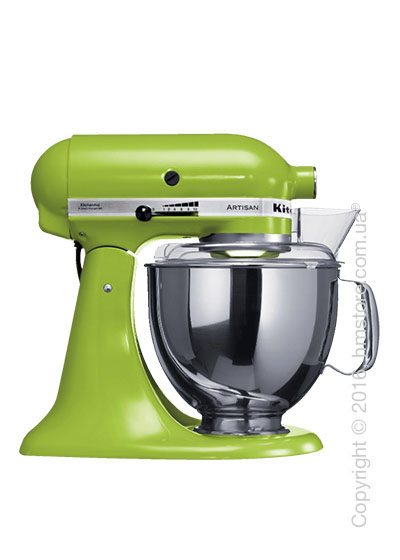 Планетарный миксер KitchenAid Artisan Series 5-Quart Tilt-Head Stand Mixer Plus Bowl 4.8 л, Green Apple