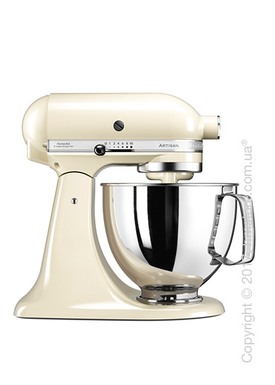 Планетарный миксер KitchenAid Artisan Series 5-Quart Tilt-Head Stand Mixer 4.8 л, Almond Cream. Купить