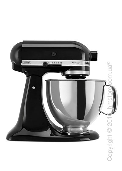Планетарный миксер KitchenAid Artisan Series 5-Quart Tilt-Head Stand Mixer 4.8 л, Onyx Black