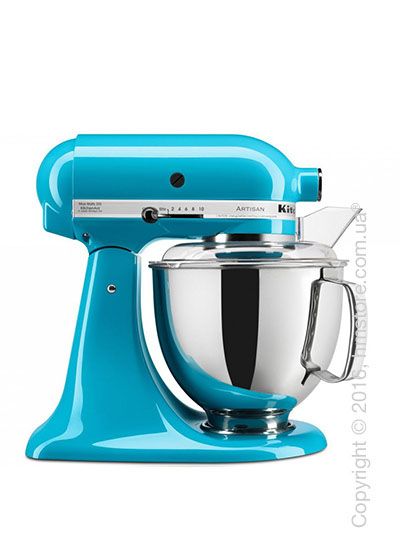 Планетарный миксер KitchenAid Artisan Series 5-Quart Tilt-Head Stand Mixer Plus Bowl 4.8 л, Crystal Blue. Купить
