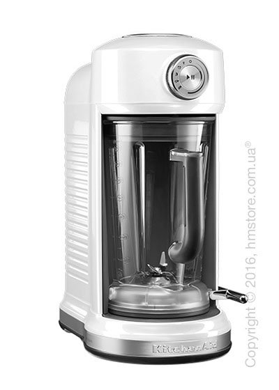 Блендер KitchenAid Artisan Torrent™ Magnetic Drive Blender, Frosted Pearl White. Купить