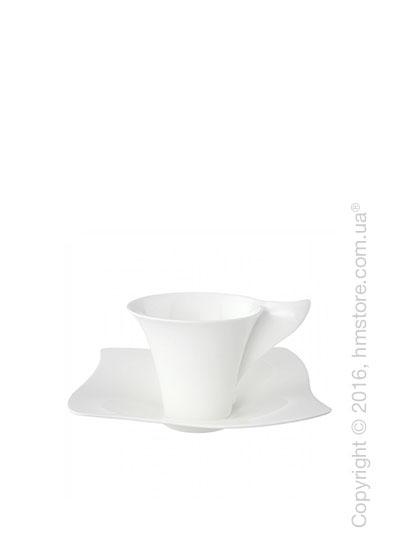 Чашка с блюдцем Villeroy & Boch коллекция New Wave Premium, 2 предмета