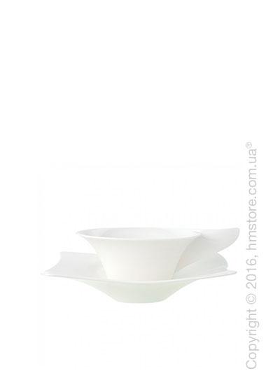 Чашка для чая с блюдцем Villeroy & Boch коллекция New Wave Premium, 2 предмета