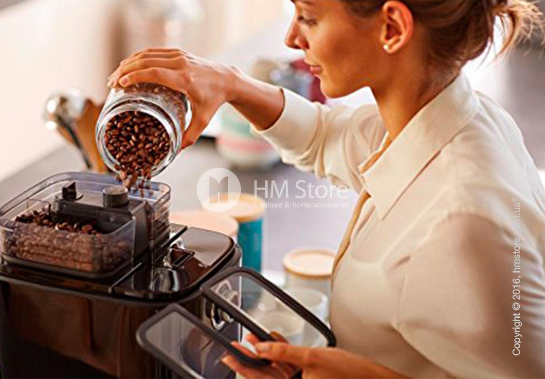 Кофеварка Philips Grind & Brew Coffee maker, Black and Stainless Steel