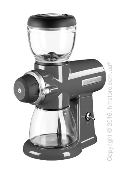 Кофемолка KitchenAid Artisan Burr Grinder, Medallion Silver