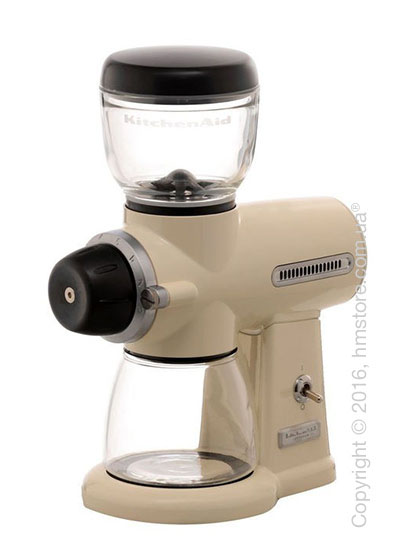 Кофемолка KitchenAid Artisan Burr Grinder, Almond Cream